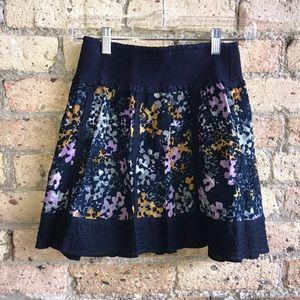 Free people cotton mini skirt